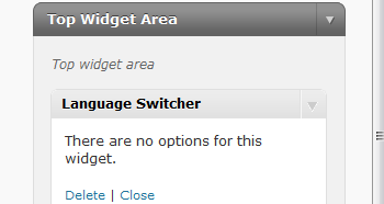 WordPress Language Switcher