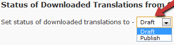 WordPress Translation Publishing